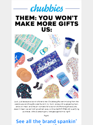 we made new free gifts for you, Grace