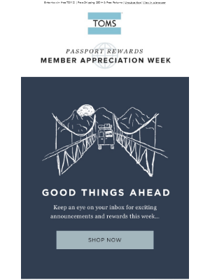 Starts NOW! Member Appreciation Week