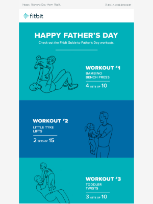 A little something to celebrate dads