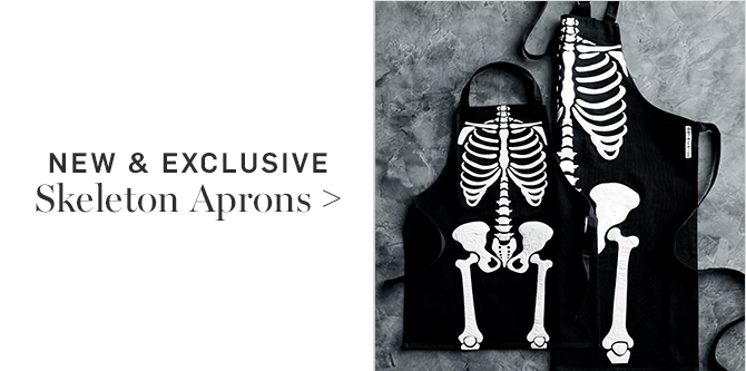 NEW & EXCLUSIVE - Skeleton Aprons
