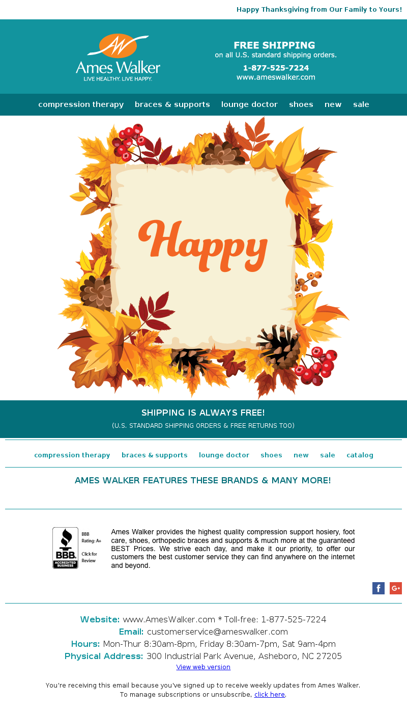 thanksgiving email strategy subject line and design ideas