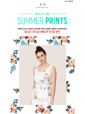 Best of Sale: Bold Summer Prints - Up to 50% Off
