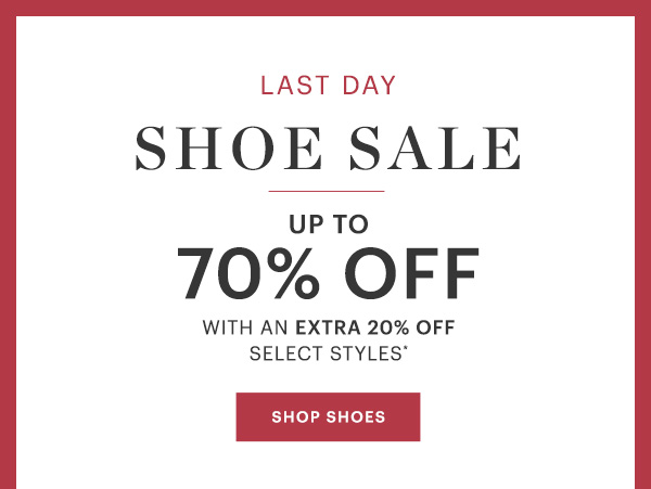 TWO DAY SHOE SALE