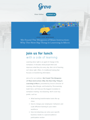 Webinar email examples webinar invite lunch plans on may 17th stopboris
