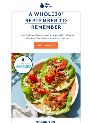 $60 off: last chance to get Whole30 recipes!