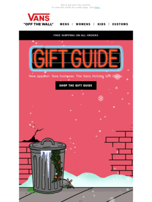The Vans Holiday Gift Guide