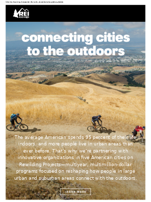 Rewilding Projects Improve Urban Outdoor Access