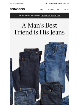 This way to better-fitting jeans ---->