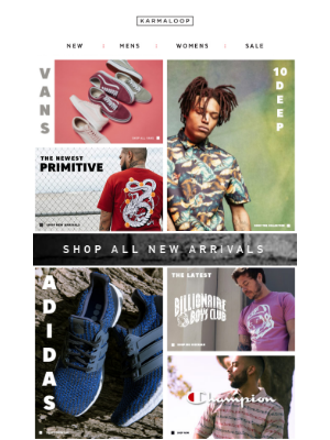 Check Out All the Latest | Vans, 10 Deep, BBC, Adidas & Much More!
