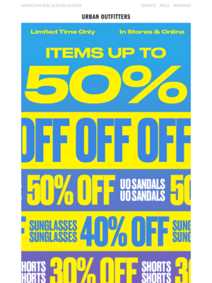 ✨up to 50% OFF✨