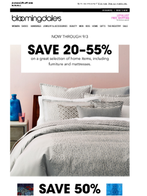 Save 20-55% in home