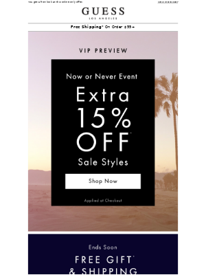 VIP Preview // Online Only