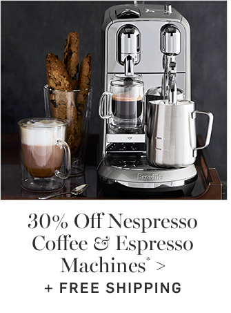 30% Off Nespresso Coffee & Espresso Machines* + FREE SHIPPING