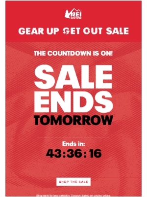 Save Up to 30%—Ends Tomorrow