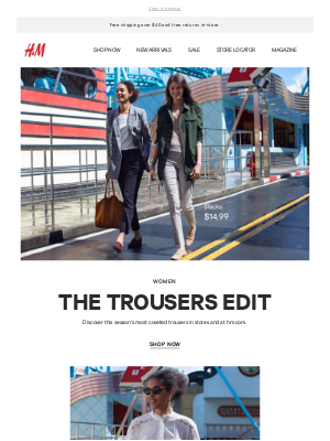 The trousers edit: 7 styles, endless looks