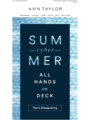 Cyber Summer Is About To End!