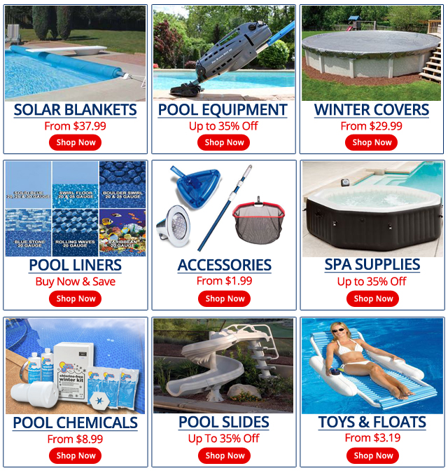 Pool Supplies, Pool Equipment and Spa Supplies by In The Swim