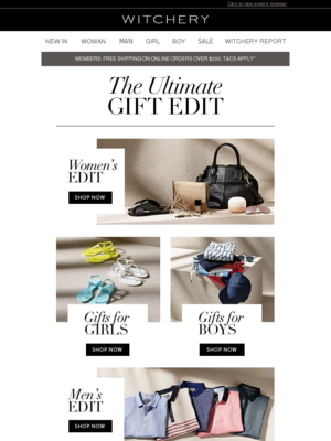 The Gift Edit: The Ultimate Guide to Giving