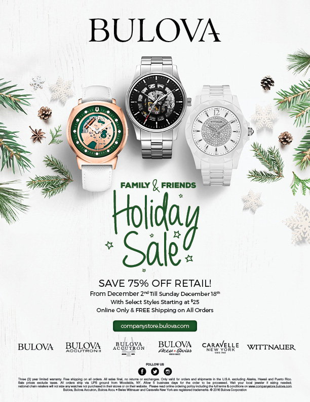 Family Friends Holiday Sale