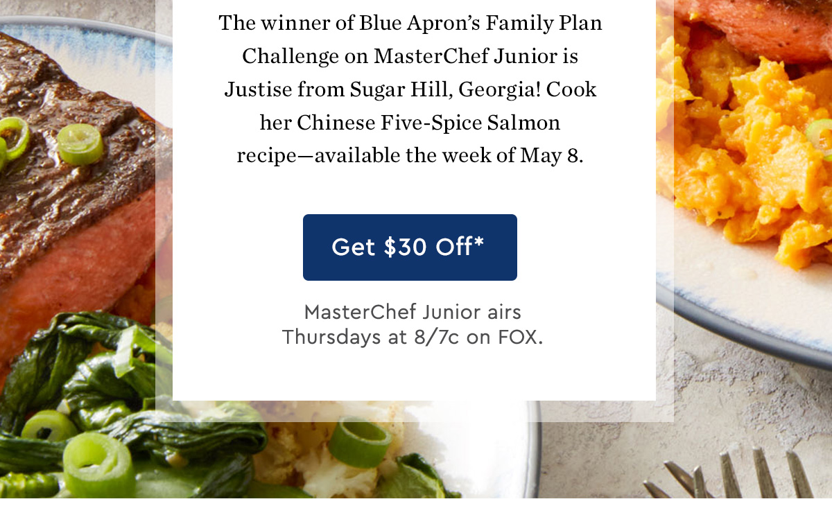 Blue apron unsubscribe - Cook Justise S Winning Recipe