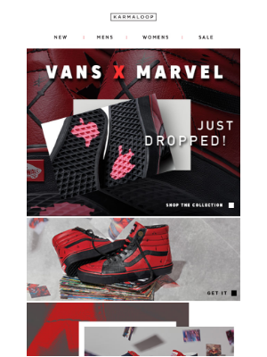 Hey, We Go 'em! Vans X Marvel Collection Available Now!