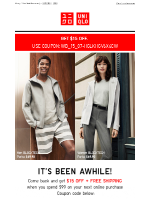 Lorna, $15 off, just for you!
