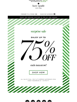 quick! enjoy up to 75% off