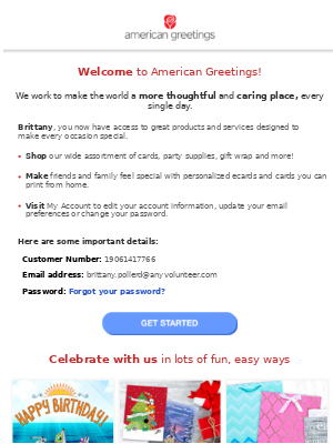 American greetings email marketing strategy mailcharts your new american greetings account m4hsunfo
