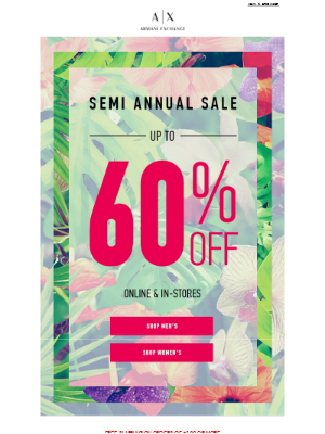 Spring & Summer Styles are Up to 60% Off