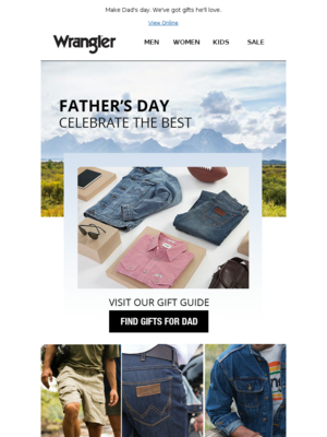 Our Father's Day Gift Guide Is Here