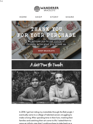 Thank You For Your Purchase!