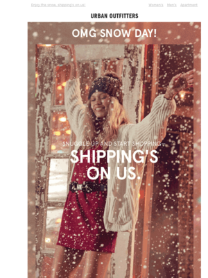 SNOW ❄️ DAY ❄️ FREE ❄️ SHIPPING