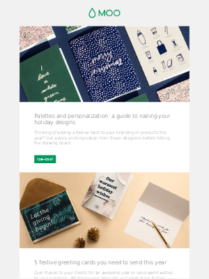 Nail your holiday designs | 5 cards you need to send | Seasonal business strategies