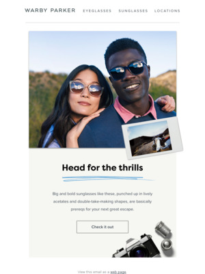 Warby Parker - sayhello@xtm.warbyparker.com