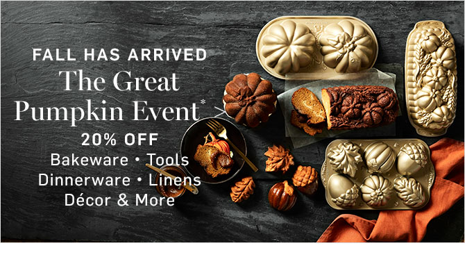 FALL HAS ARRIVED - The Great Pumpkin Event*