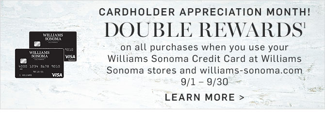 CARDHOLDER APPRECIATION MONTH! DOUBLE REWARDS¹ - LEARN MORE