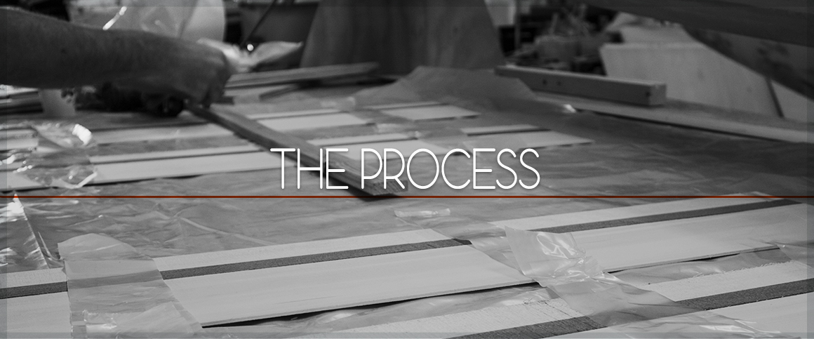 The process banner