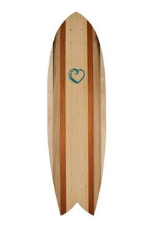Share the Stoke Foundation - Handmade Longboard Skateboard