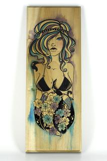 Saltwater vixen illus purp blue