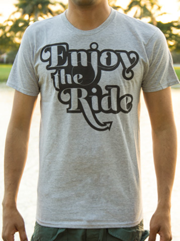 Enjoy the Ride t-shirt from Makai Project