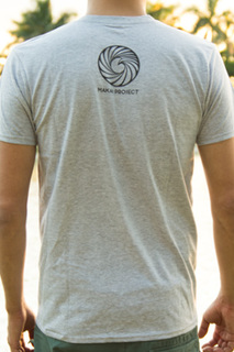 Makai project enjoy the ride shirt gray back