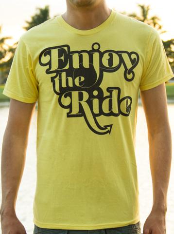 Enjoy the Ride - Makai Project T-Shirt