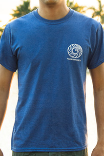 Makai project t shirt blue front