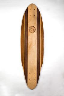 Teak Longboard Skateboard