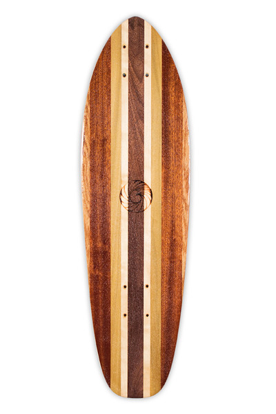 Handcrafted Kicktail Skateboard from Makai Project - Enjoy the Ride!