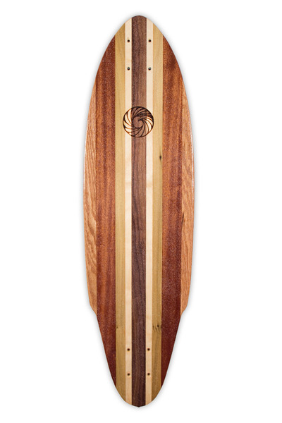 Pintail Skateboard Deck handcrafted by Makai Project in South Florida