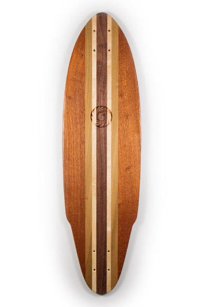 Handmade Longboard Skateboards from Makai Project
