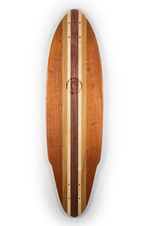 Handmade Longboard Skateboards from Makai Project