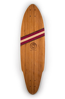 Handcrafted Skateboards made in South Florida by Makai Project - Made with Bamboo, Purpleheart, Birdseye Maple, Black Walnut and Maple