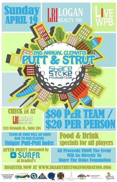 Putt & Strut - Share the Stoke Foundation
